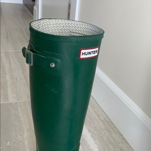 Hunter Shoes - Original Tall Hunter Boots in gorgeous green